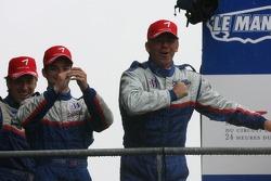LMP2 podium: class winners William Binnie, Allen Timpany, Chris Buncombe