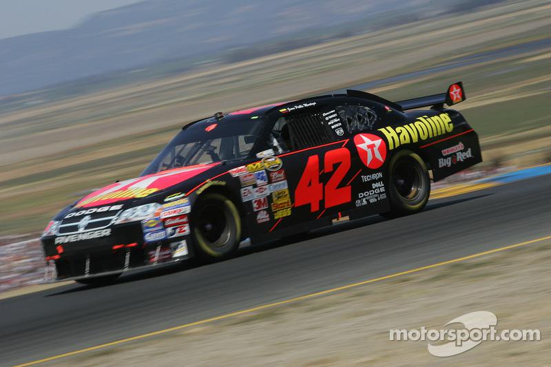 2007, Sonoma: Juan Pablo Montoya (Ganassi-Dodge)