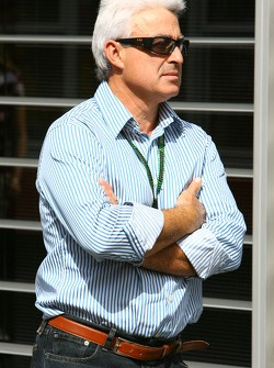 Fernando Alonso's father, Jose Luis Alonso