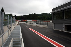 New exit of the Pit Lane