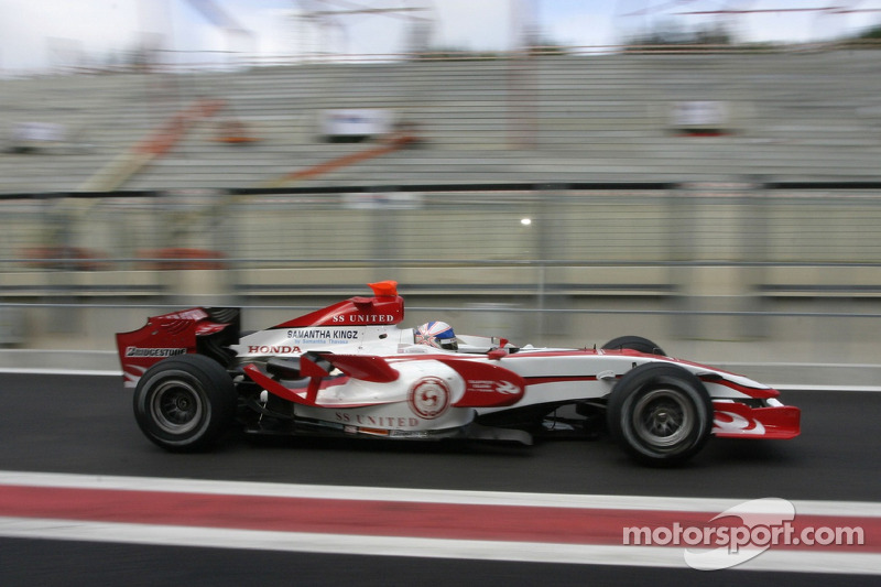 #23 : Anthony Davidson, Super Aguri SA07