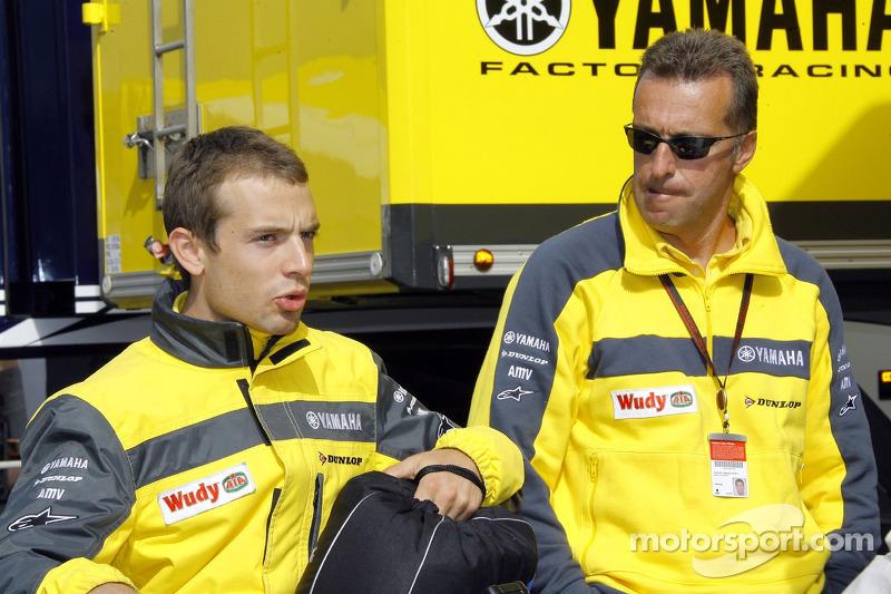 Hervé Poncharal y Sylvain Guintoli