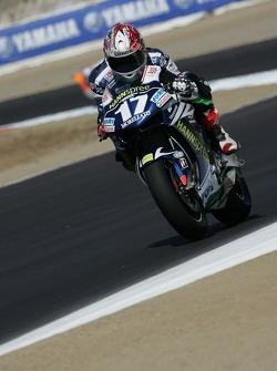 Miguel Duhamel on the Honda Gresini MotoGP bike