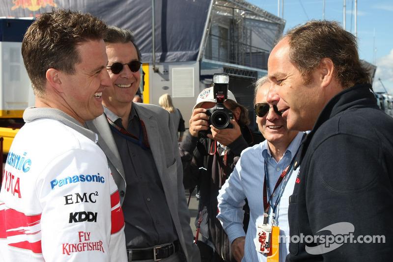 Ральф Шумахер, Ганс Мар, Герхард Бергер Scuderia Toro Rosso