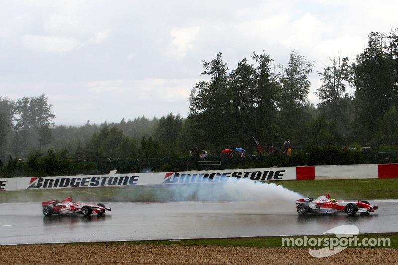 Ральф Шумахер, Toyota Racing, TF107, Такума Сато, Super Aguri F1, SA07