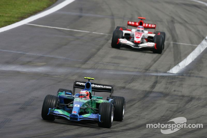 Рубенс Баррікелло, Honda Racing F1 Team, RA107 Такума Сато, Super Aguri F1, SA07