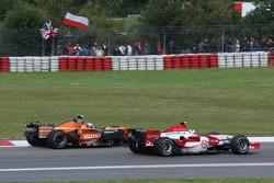 Markus Winkelhock, Spyker F1 Team es superado por Anthony Davidson, Super Aguri F1 Team