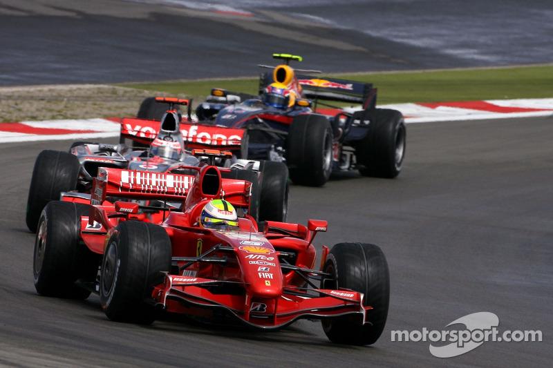 2007 - Primer podio con Red Bull