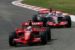 Феліпе Масса, Scuderia Ferrari, Фернандод Алонсо, McLaren Mercedes