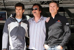 Квентін Тарантіно, Марк Веббер, Девід Култхард, Red Bull Racing