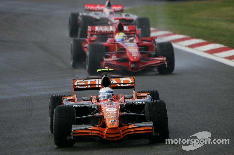 Маркус Вінкельхок, Spyker F1 Team, Феліпе Масса Кімі Райкконен, Scuderia Ferrari