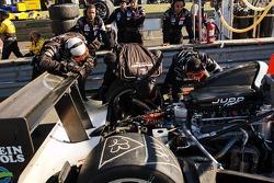 #37 Intersport Racing Creation CA06H Judd: Clint Field, Jon Field, Richard Berry in the pits