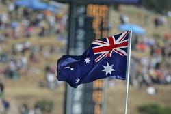 Australian flag for Casey Stoner