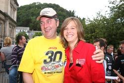 Marc Duez and Sarah Bovy