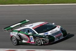 #216 S-berg Racing Lamborghini Gallardo GT3: Vadim Kuzminykh, Antoine Leclerc