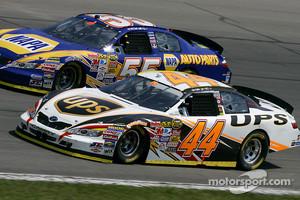 Dale Jarrett and Michael Waltrip