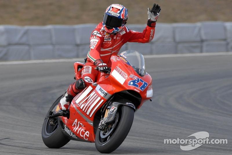 2007: Casey Stoner (Ducati Desmosedici GP7)