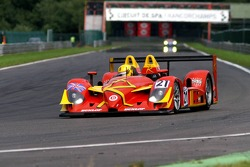 """Pace lap on the """"Kemmel"""" straight uphill to """"Les Combes"""", #21 Bruichladdich Radical SR9-AER"""