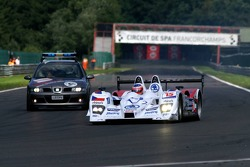 Down to last position from 3rd on the grid, #15 Charouz Racing System Lola B07/17-Judd: Stefan Mücke, Jan Charouz