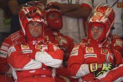 Ferrari Mechanics pit stop crew