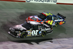 Clint Bowyer and Jeff Gordon