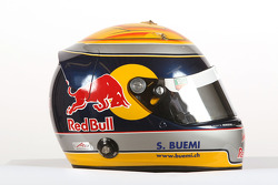 Sebastien Buemi, driver of A1 Team Switzerland, Helmet