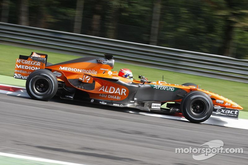 Сакон Ямамото, Spyker F1 Team
