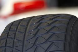 Wet tyre detail