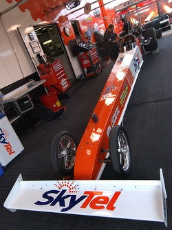 Larry Dixon's car is prepped for the US Nationals