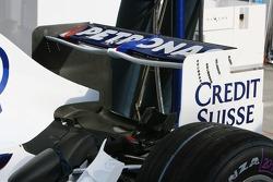 BMW Sauber F1 Team, F1.07, Rear wing