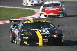 #53 Racing Team Edil Cris Ferrari 430 GT2: Matteo Cressoni, Maurizio Mediani