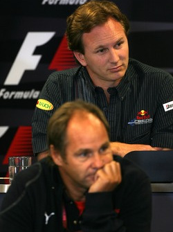 Gerhard Berger, Scuderia Toro Rosso, 50% Team Co Owner, Christian Horner, Red Bull Racing, Sporting Director