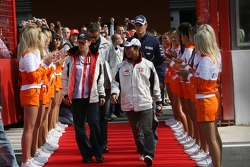 Anthony Davidson, Super Aguri F1 Team, Takuma Sato, Super Aguri F1