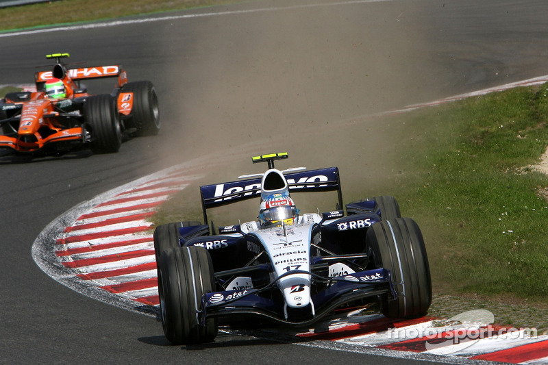 #17: Alexander Wurz, Williams F1 Team