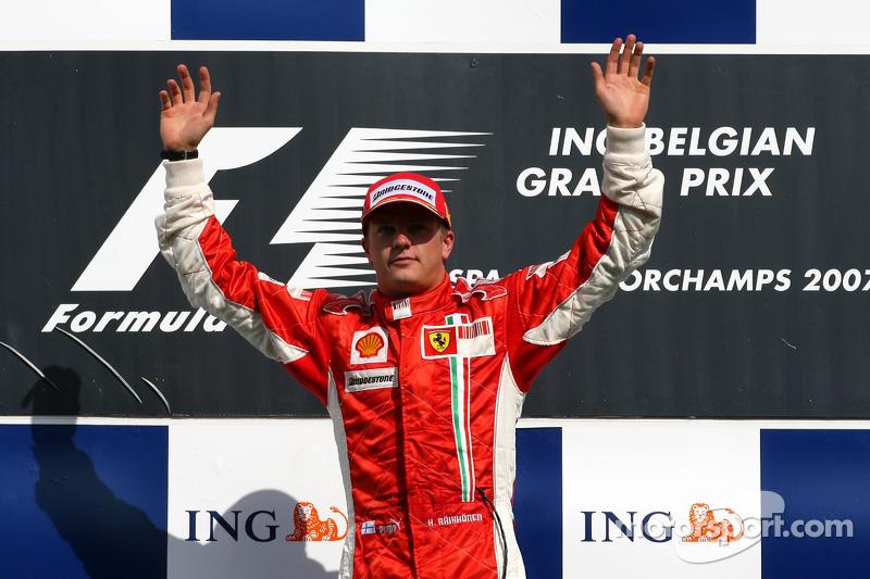 Grand Prix von Belgien 2007 in Spa: Sieger