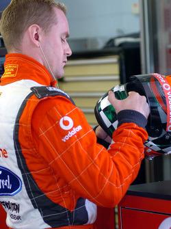 Irishman Richard Lyons joined Team Vodafone