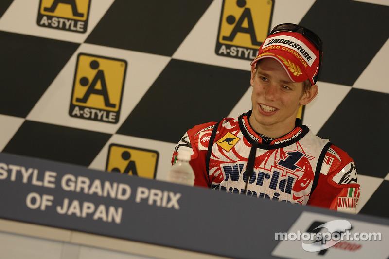 Післягоночна прес-конференція: чемпіон MotoGP Кейсі Стоунер