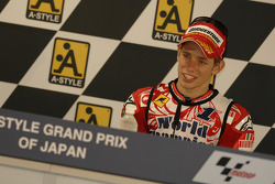 Post-race press conference: 2007 MotoGP champion Casey Stoner