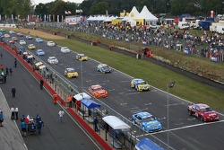 Alain Menu, Team Chevrolet, Chevrolet Lacetti et James Thompson, N Technology, Alfa Romeo 156