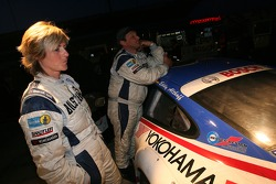 Sabine Schmitz and her husband Klaus Abbelen