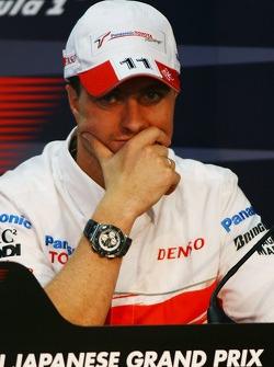 FIA press conference: Ralf Schumacher, Toyota Racing