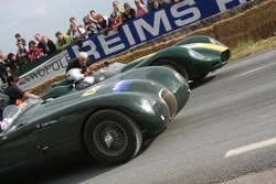Jaguar Typec and Lister Chevrolet