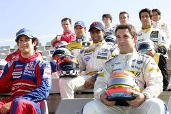 Победители серии GP2 2007 года - Тимо Глок и Бруно Сенна