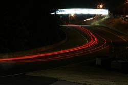 Wild lights at Road Atlanta
