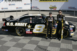 The U.S. Army Chevrolet  will carry the No. 8 during the 2008 NASCAR Sprint Cup season and  will be driven by Mark Martin and Aric Almirola