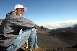 Sebastian Vettel, Scuderia Toro Rosso in Hawai (Haleakala National Park)