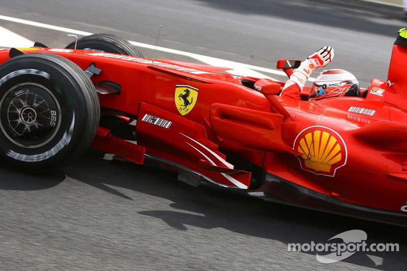 2007: Kimi Räikkönen (Ferrari)
