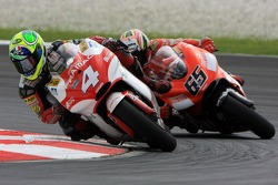 Alex Barros followed by Loris Capirossi