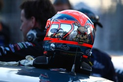 Russell Ingall's helmet (Caltex Racing Ford Falcon BF)