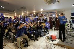 Petter Solberg meets fans